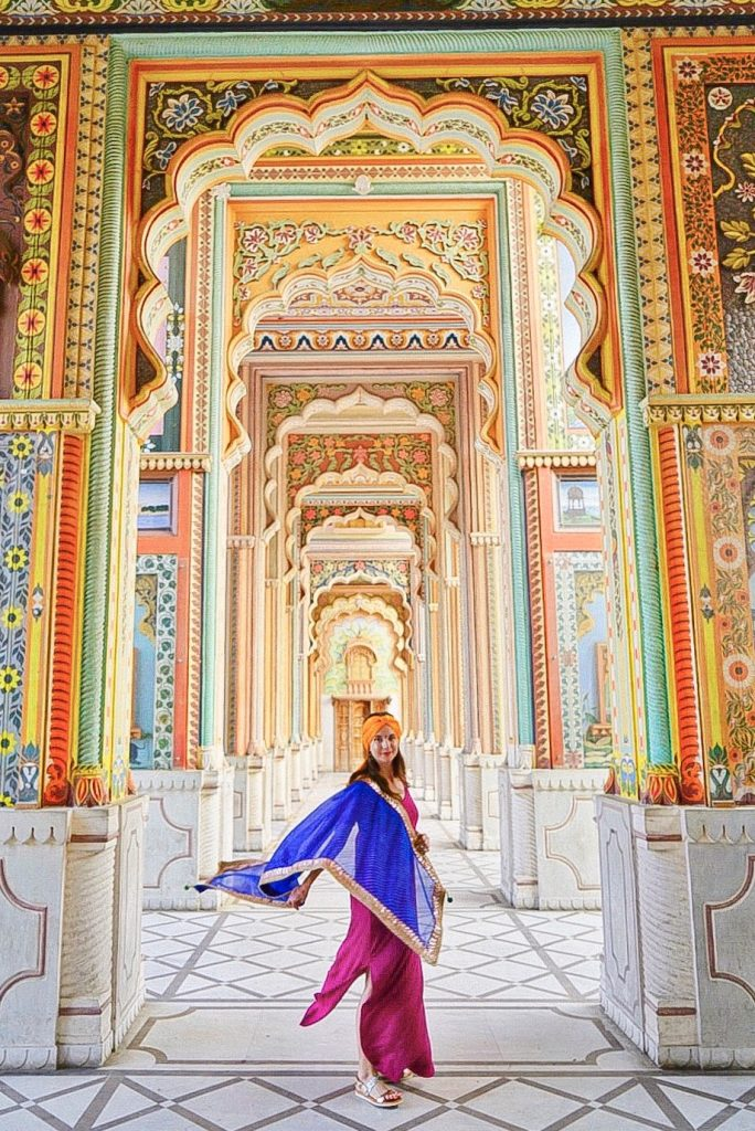 Patrika Gate in Jaipur another stop on India's Golden Triangle tour one of India'a best photo spots