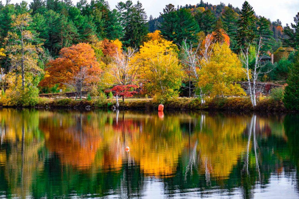 Mirror Lake Lake Placid Adirondack Park